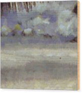 Different Types Of Clouds Wood Print