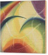 Diffusion Du Centre Wood Print