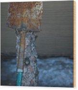 Dig Deep One Wood Print
