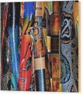 Digeridoos Wood Print