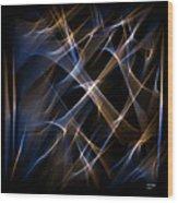 Digital Art 50 Wood Print