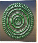 Digital Art Dial 3 Wood Print
