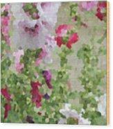 Digital Artwork 1393 Wood Print