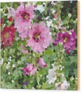 Digital Artwork 1394 Wood Print