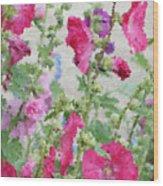 Digital Artwork 1417 Wood Print