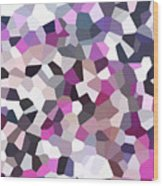 Digital Artwork 328 Wood Print