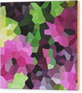 Digital Artwork 844 Wood Print