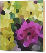 Digital Artwork 845 Wood Print