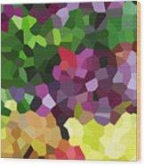 Digital Artwork 846 Wood Print