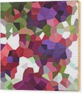 Digital Artwork 847 Wood Print