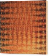 Digital Copper Plate Abstract Wood Print