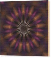 Digital Doodle 110610a Wood Print