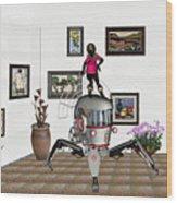 Digital Exhibition 421 Wood Print