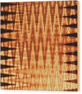 Digital Fire Wood Print