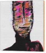 Digital Painting 082 Wood Print