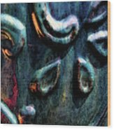 Digital Painting Abstract Blue 2364 Dp_2 Wood Print