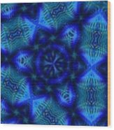 Digtal Doodle 110610d Wood Print