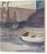 Dinghy Wood Print