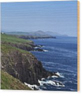 Dingle Coast Near Fahan Ireland Wood Print