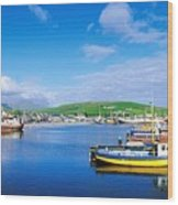 Dingle, Dingle Peninsula, Co Kerry Wood Print