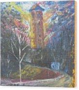 Dingle Tower Wood Print