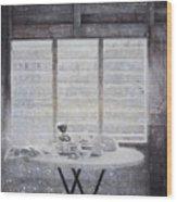 Dining Table- Swink Wood Print