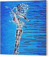 Dinka Dame - South Sudan Wood Print