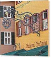 Dinkelsbuhl 12 Wood Print