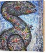 Dino Wood Print