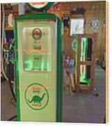 Dino Gasoline Wood Print