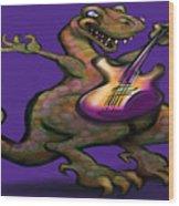 Dinorock Wood Print