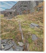 Dinorwic Quarry Ruins Wood Print