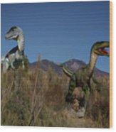Dinosaur 10 Wood Print