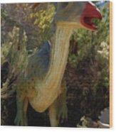 Dinosaur 11 Wood Print