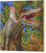Dinosaur 12 Wood Print