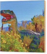 Dinosaur 7 Wood Print