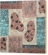 Dinosaur Ridge Wood Print