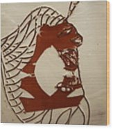 Dionte - Tile Wood Print