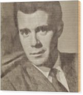 Dirk Bogarde, Vintage Actor By John Springfield Wood Print