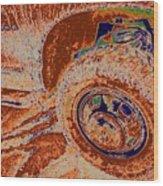 Dirtroad Joyride Wood Print