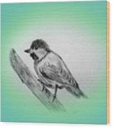 Dirty Bird Wood Print