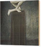 Discobolus Wood Print