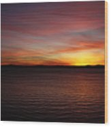 Discovery Park Sunset 6 Wood Print