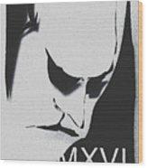 Discusted Man 2016 Wood Print