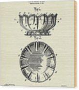 Dish-1900 Wood Print