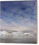 Disko Fjord Greenland Wood Print