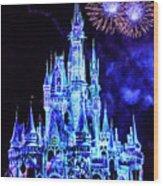 Disney 4 Wood Print