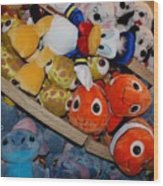 Disney Animals Wood Print