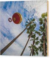 Disney Baloon Wood Print