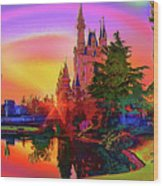 Disney Fantasy Art Wood Print